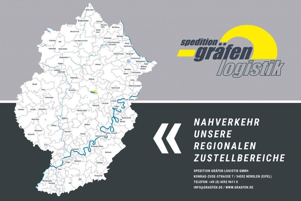 NAHVERKEHR Spedition Gräfen Logistik Nerdlen Daun (Nerdlen) Eifel Rheinland-Pfalz Europa